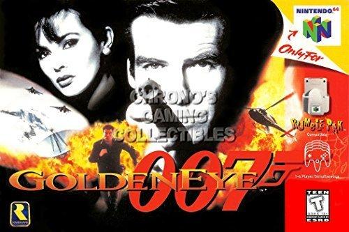 Gebraucht, James Bond 007 Golden Eye Nintendo 64 Spiel gebraucht kaufen  Wird an jeden Ort in Deutschland