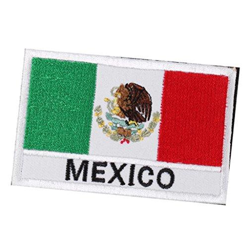 P Prettyia Bandera Mexico De Parche De Mexico Remiendo