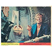 20,000 Leagues Under The Sea Original Lobby Card Kirk Douglas With Seal