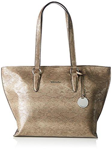Tamaris - Neve Shopping Bag, Borsa shopper Donna Beige (taupe Snake)