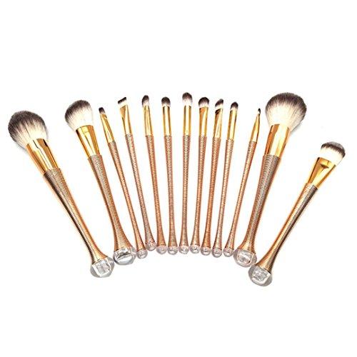 Beauté Top 13PCS Maquillage Pro CosméTiques Pinceaux Fond De Teint Poudre Fard à PaupièRes Pinceau à LèVres