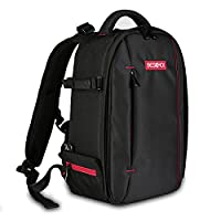 Camera Backpack???Beschoi Professional Multi-function Waterproof Anti-shock DSLR Rucksack 840D Nylon Large Capacity Camera Bag for Canon Nikon Sony Camera Accessories and Laptops Tablets Small Size(13*9.8*5.5