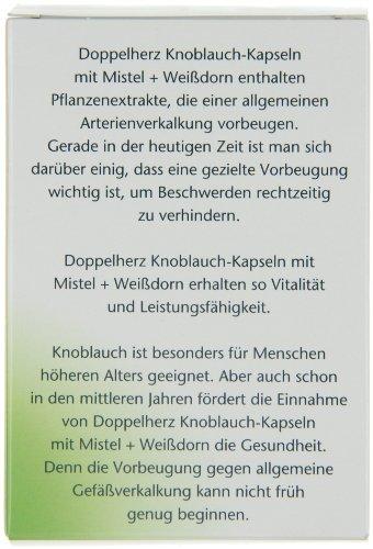 Doppelherz Knoblauch Kapseln mit Mistel und Weißdorn, 270er - 2
