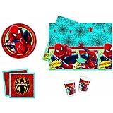 Marvel 2996 - Kit de fiesta, diseño de Spiderman
