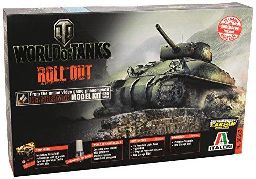 Italeri 36503 - (Eu-Wot)  M4 Sherman