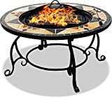 Centurion unterstützt Feuerwehr Calagora Grand Garten- und Terrassenstrahler, Feuerschale, Couchtisch, Grill und Eiseimer mit Granitfliesen