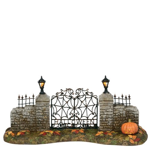illage Accessories Halloween Entry Gate Lit Figur, LED, Mehrfarbig 3.25
