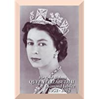 Vintage Regina Elisabetta II Diamond Jubilee 1952- 2012 * 250 gsm Art carta lucida Reproduction