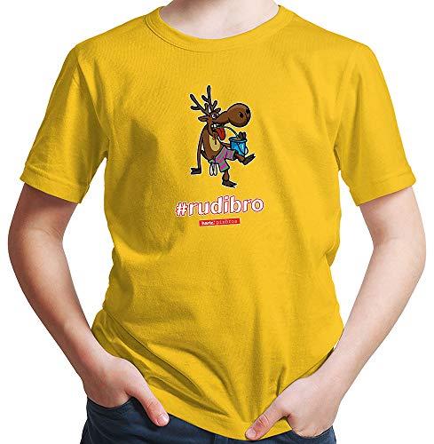 HARIZ  Jungen T-Shirt Pixbros Rudibro Xmas Weihnachten -