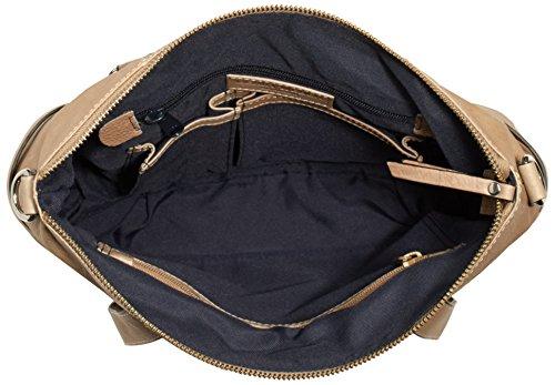 GERRY WEBER - Rosas Handbag M, Borsa con Maniglia Donna Grigio (Grau (taupe 104))