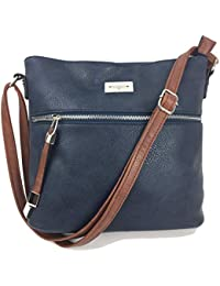 Designer Handbags for Women MEGAN Medium Size Smart   Compact Fashion  Across Body Shoulder Bag Messenger 1c90db5295223