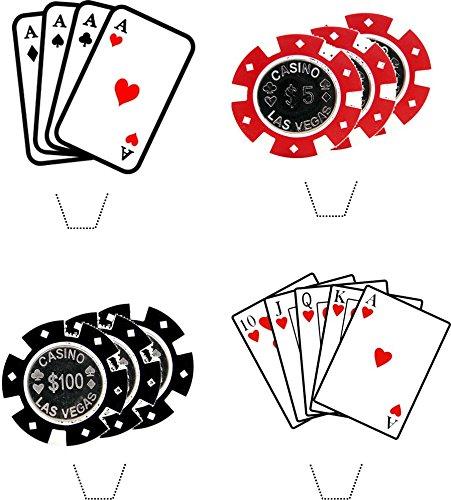 nouveaut-casino-poker-parti-mlange-12-comestibles-lever-plaquettes-de-hauts-de-forme-de-gteau-de-pap
