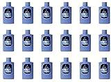 18pièces Talc Parfum classique fougère Bleu Pot