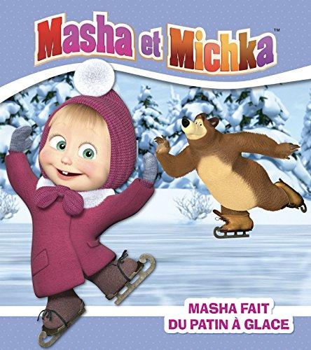 Masha fait du patin  glace