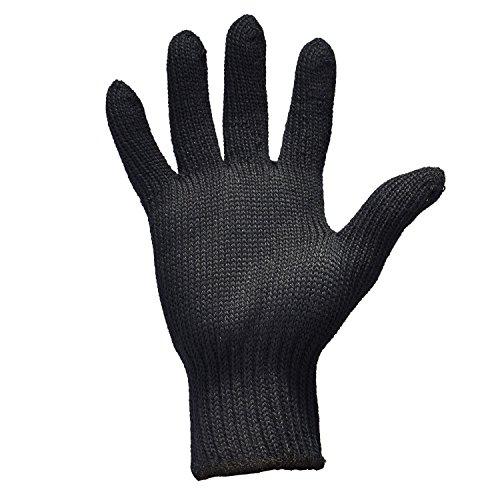 Remylady® Professionelle Hitzeschutz Handschuh für Haarglätter Lockenstab Glätteisen,Verwendbar Für Links Und Rechtshänderm,1 Stück(Herstellergröße M)