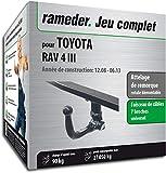 Rameder Attelage rotule démontable pour Toyota RAV 4 III + Faisceau 7 Broches...