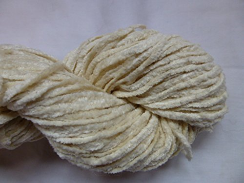 natural-muslin-white-100-cotton-chenille-worsted-weight-yarn-by-bloomingdale-farm
