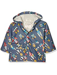 Hatley Baby Boys' Infant Retro Rockets Raincoat