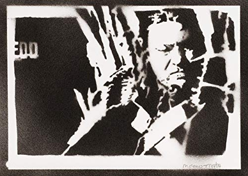 Poster Eddard Stark Il Trono Di Espade (Game Of Thrones) Handmade Graffiti Sreet Art - Artwork