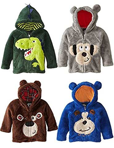 Tkria Garçon Sweat-shirts à Capuche Kawaii Enfant Unisexe Animal Imprimé