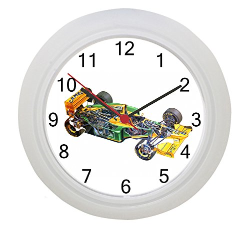 benetton-formulaone-f1gran-prix-horloge-murale