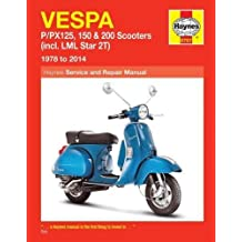 Vespa P/Px125, 150 & 200 Scooters (78-14) (Haynes Service & Repair Manual)