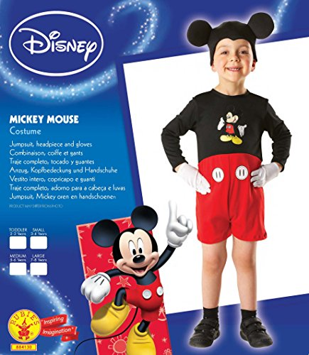 Imagen de mickey mouse toddler 2 3 years disfraz  alternativa