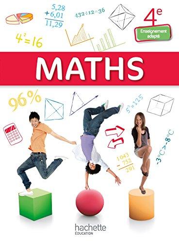 Mathématiques 4e Enseignement adapté - Livre élève consommable - Ed. 2015 PDF