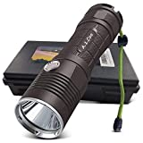 A.1.Coo LED Taschenlampe 3000 Pro - Taktische Outdoor XM-L2 Flashlight Mit Akku Set