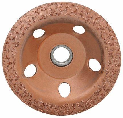 4-1/2 Carbide Cup Wheel Universal 7/8 Arbor, 24 Diamond Grit by diamondLife -