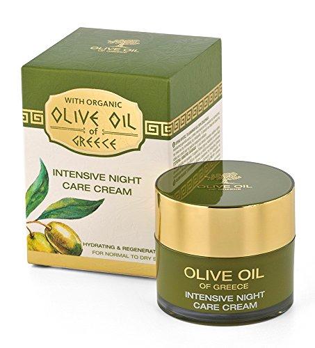 BioFresh Nachtcreme für die Intensive Feuchtigkeitspflege mit biologischem Olivenöl und...