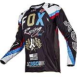 Fox Jersey 360 Rohr Schwarz Gr. XL