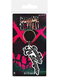 Pyramid International Suicide Squad Daddy'S Lil Monster - Llavero de Goma,, 4,5 x 6 cm