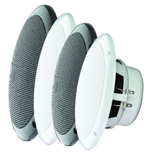 1 Paar Marine - Lautsprecher 80 Watt 147 mm m. Anschlußkabel (Lautsprecher-paar)