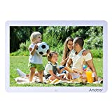 Andoer 15 Inches LED Digital Picture Frame 1280x800 with Remote Control Multiple Functions