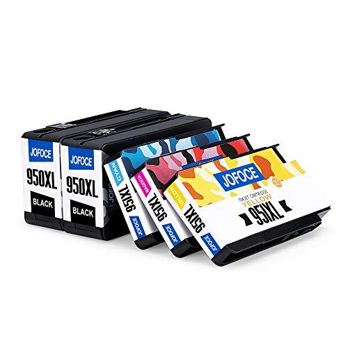 Jofoce 950XL 951XL Druckerpatronen für HP 950XL 951XL 950 951 Druckerpatronen, Kompatibel mit HP Officejet Pro 8600 8100 251dw 8610 276dw 8615 8620 8625 8630 8640 8660 Drucker