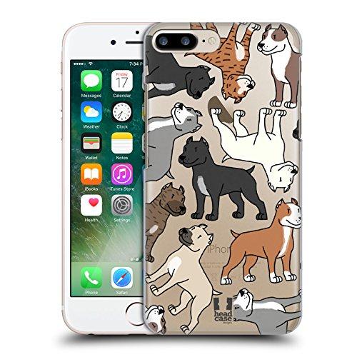 Head Case Designs Dachshund Hunderasse Muster 3 Ruckseite Hülle für Apple iPhone 5 / 5s / SE Pitbull Terrier
