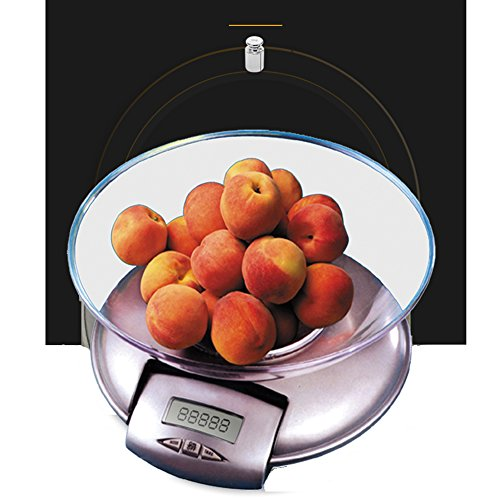 Lishi Küchen-Elektronische Skala-Hohe Präzision 5Kg Chinesische Medizin-Gramm-Skala mit Dem Behälter, der Kleinen Maßstab des Haushalts Backt