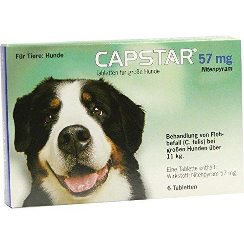 Elanco Deutschland GmbH Capstar 57 mg Tabletten f 6 STK