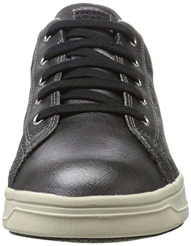 Grigio Unisex Basse Aveup Geox Sneakers grafite Ha ZFB4E