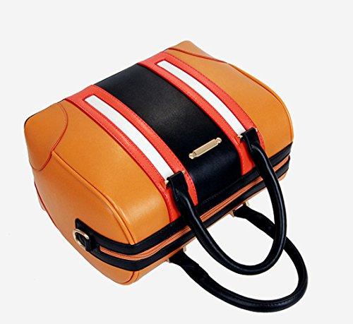 Keshi Pu Niedlich Damen Handtaschen, Hobo-Bags, Schultertaschen, Beutel, Beuteltaschen, Trend-Bags, Velours, Veloursleder, Wildleder, Tasche Erdigen Gelb