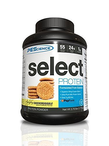 pescience-181-g-snicker-doodle-select-protein-supplement-55-servings