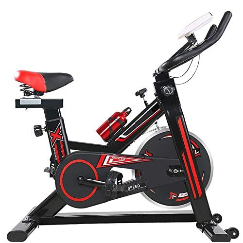 51nZtdqAuWL. SS500  - YHSport Indoor Cycling Exercise Bike, F-Bike Home Trainer Flywheel Adjustable Magnetic Resistance, 2-Piece Crank, 5-Function Monitor, Emergency Stop System, Ergonomic Fully Adjustable Seat