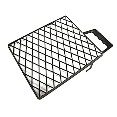 1x Farbgitter schwarz 25 x 22,5 cm Abstreifgitter Malerwerkzeug von WO-WE auf TapetenShop
