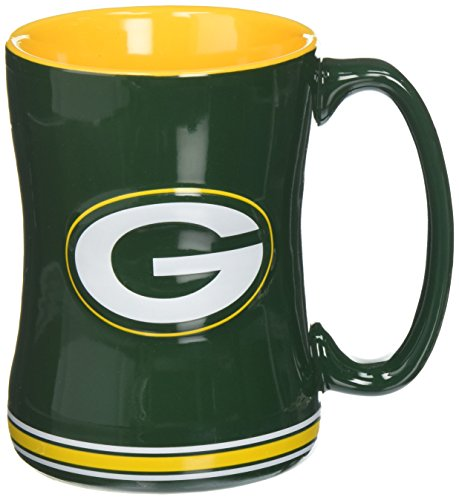 NFL Green Bay Packers Box Relief modellierte Tasse (Box Music Green)