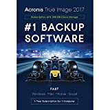 Acronis True Image 2017 - software licenses/upgrades (Box, ENG)