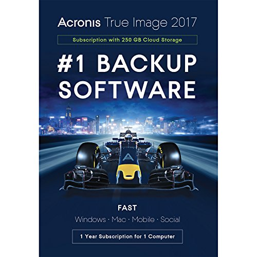 Acronis THIXB2UKS True Image 2017 License - 1 Computer with 250GB Cloud...