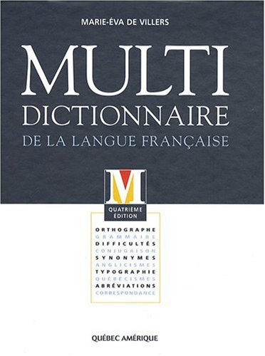 Multi- dictionnaire de la langue française