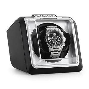 Klarstein Hanoi oder Tokyo • Uhrenbeweger • Uhrendreher • Uhrenbox • Uhrenkasten • für 1, 2 oder 4 Uhren • 3 Geschwindigkeiten • 4 Modi • geräuscharm • Bambus oder schwarz