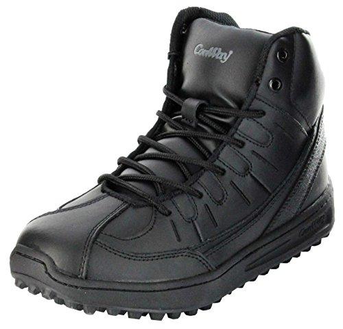 ConWay Feuerwehr Wettkampf-Schuh schwarz Outdoor Schuhe Damen/Herren/Jugend 1000, Farbe:schwarz, Größe:42